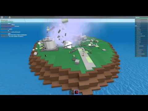 [ROBLOX: Natural Disaster Survival] - Lets Play - Tornado and Acid Rain!