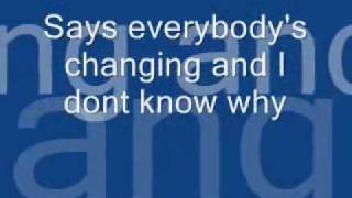 Repeat youtube video Keane-Everybody's Changing