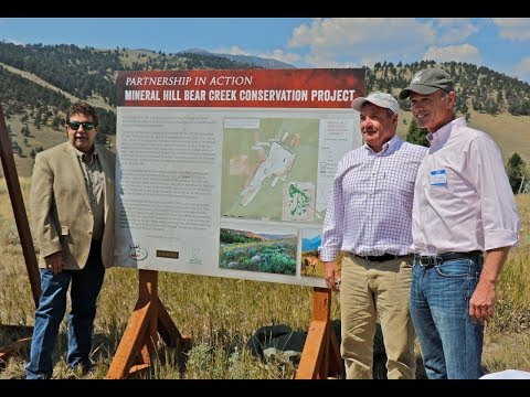 See how Kinross Gold preserved fish and wildlife habitat with Trout Unlimited and RMEF