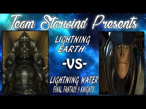 FFTCG | Lightning Earth vs Lightning Water