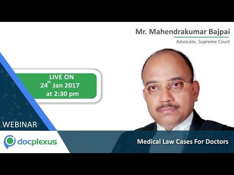 Webinar On Medical Law Cases For Doctors