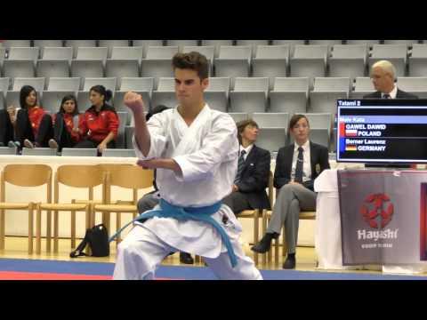 German Open Vorkämpfe Kata Herren KF