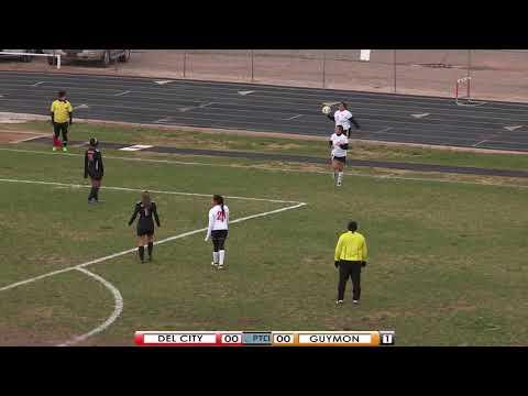 PTCI Soccer Del City vs Guymon 4-13-18 Girls