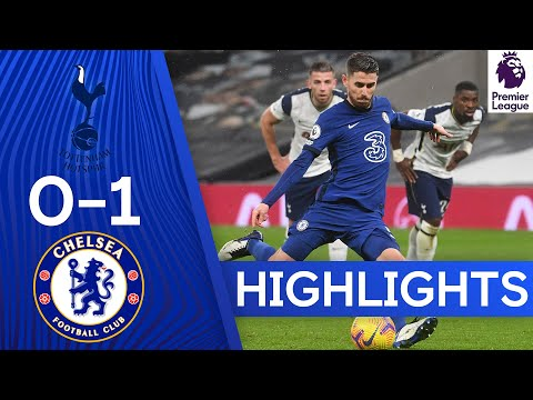 Tottenham 0-1 Chelsea | Jorginho Penalty Seals London Derby | Premier League Highlights