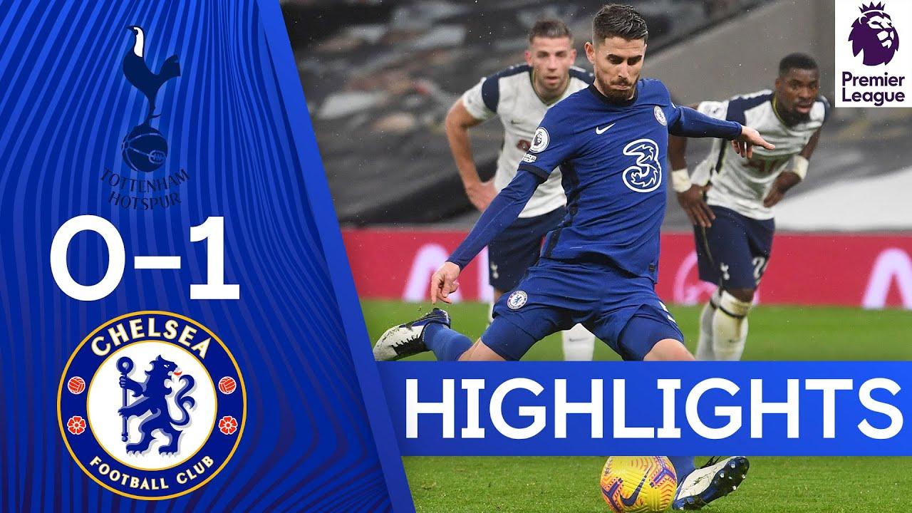 Tottenham 0-1 Chelsea | Jorginho Penalty Seals London Derby | Premier League Highlights
