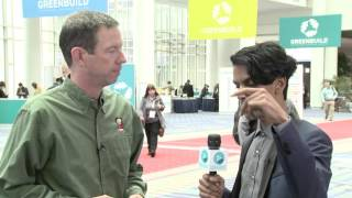 Interview with Chad Dorgan of McCarthy Building Companies at Greenbuild 2015