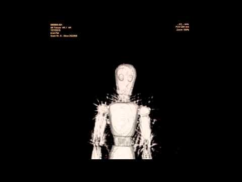 CT-scan of a Artist wooden doll