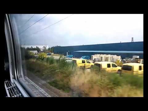 Voyage en TGV Strasbourg-Colmar