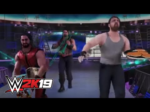 WWE 2K19 Entrance Mashup: The Shield As The New Day