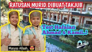 Ahmad Ghazali Akbar dan Kamil Ramadhan, Hafizh Cilik Indonesia berkunjung ke SDIT Hidayatullah Jogja