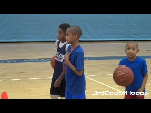 Workout Session: Sonny Johnson (4th Grade), Meechie Johnson (5th Grade), and Marcus Johnson (K)