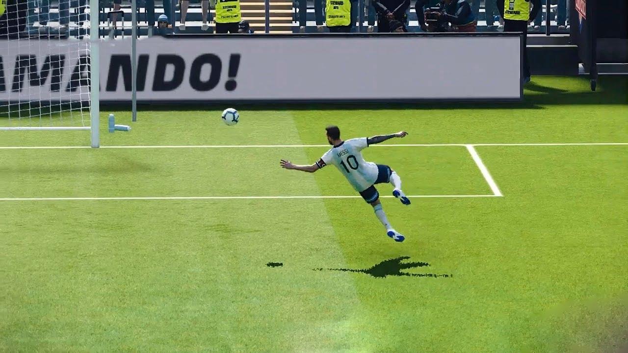 goal rocket -That Shocked The World - PES Gameplay