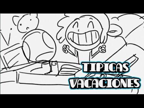 TÍPICAS VACACIONES   DRAW MY LIFE: LA SERIE