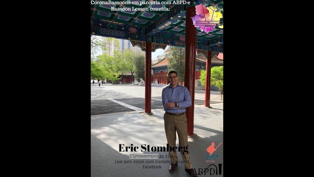 Live com Eric Stomberg