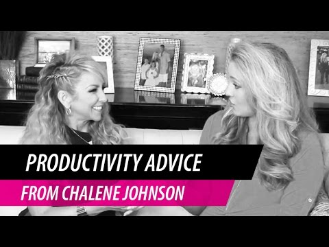 Productivity Tips from Chalene Johnson with Kelsey Humphreys