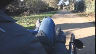 Unboxing, Installing and Testing a Cyclone 250W Motor on a Trice XL Recumbent Tricycle