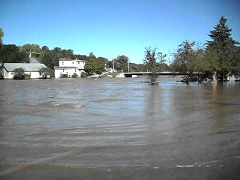 Boquet River, Willsboro NY  Post-Hurricane Irene.