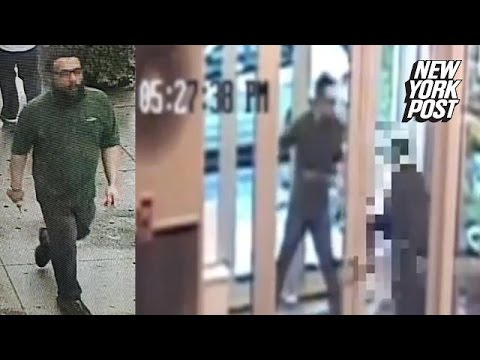 Horrifying Harlem stabbing caught on security camera