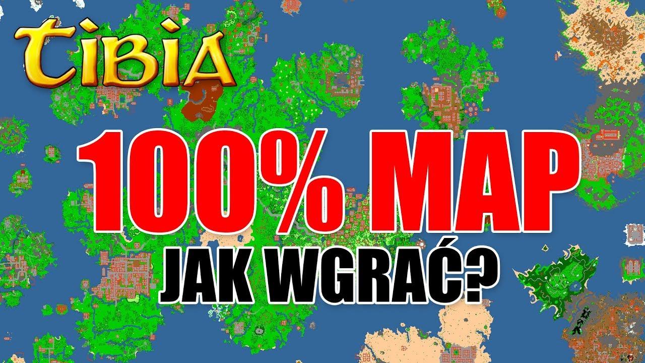 Tibia World Map.Tibia 100 Map Jak Wgrac 100 Mapy W Tibii Mega Poradnik