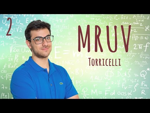 MRUV - Fórmula de Torricelli - EXATAS EXATAS (Aula 2)