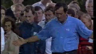 Seve Ballesteros at the 1994 Volvo Masters.4th round.