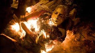 O Rico e Lázaro, Neusta é queimada e Nabucodonosor diz que vai matar Nitócris