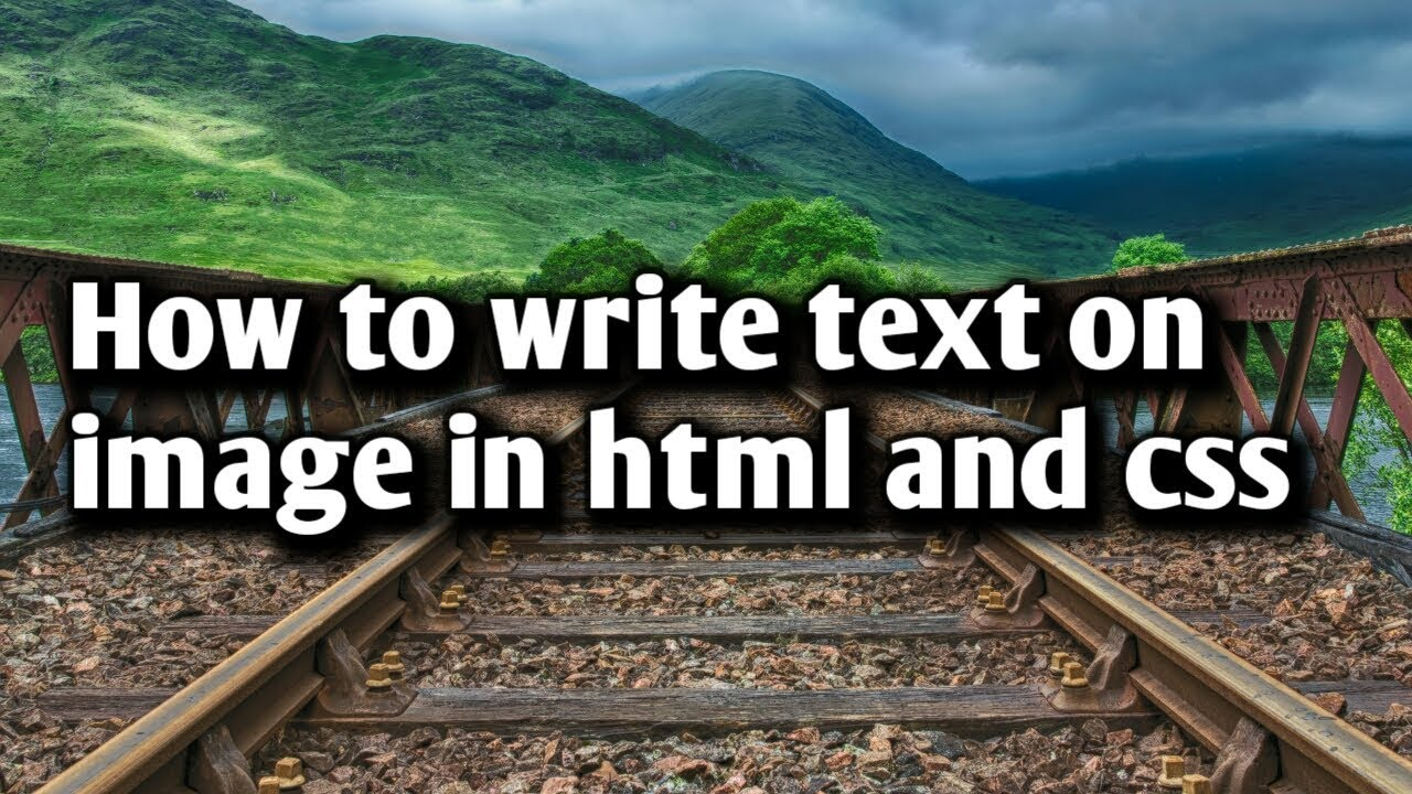 html how to write text