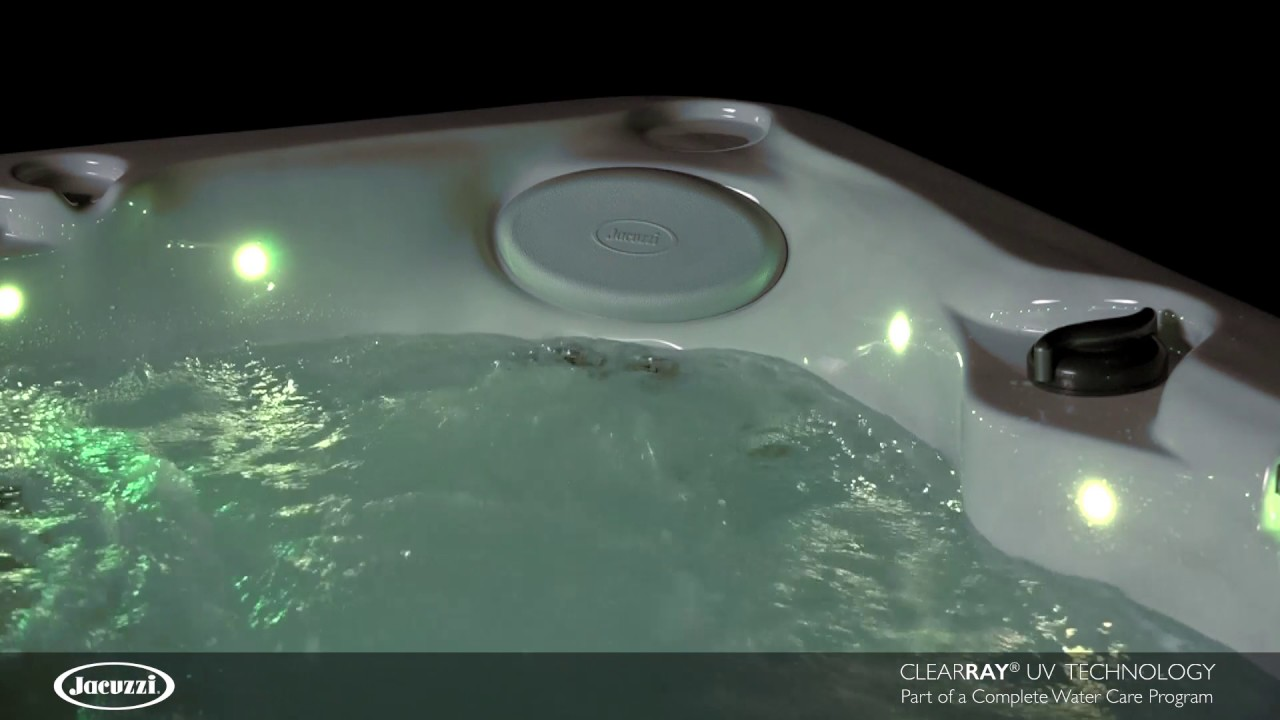 Jacuzzi Hot Tubs CLEARRAY UV Technology - YouTube