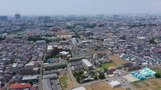 船橋市飯山満上空120m