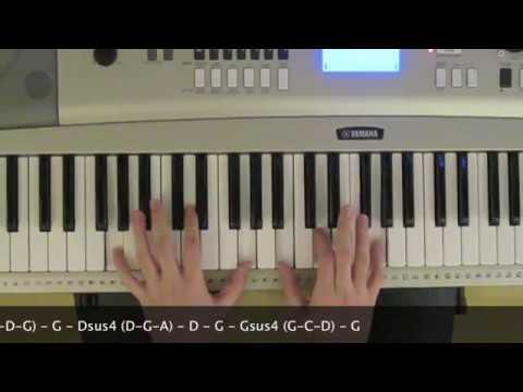 10,000 Reasons Piano Tutorial (Bless The Lord) - YouTube
