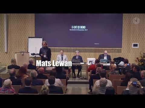 LENR ColdFusion Demo - E-Cat QX - Stockholm Nov. 24th