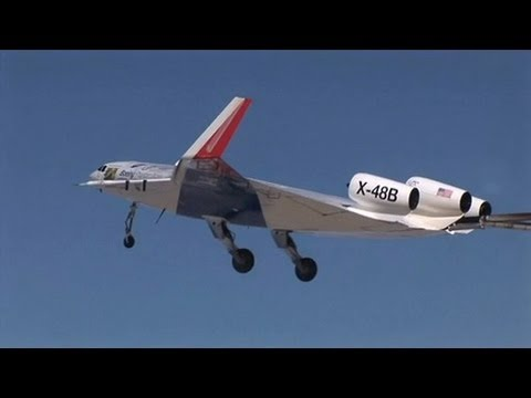nasa x 48 drone aircraft - photo #4