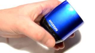 видео Обзор товара беспроводная колонка Hyundai i80
