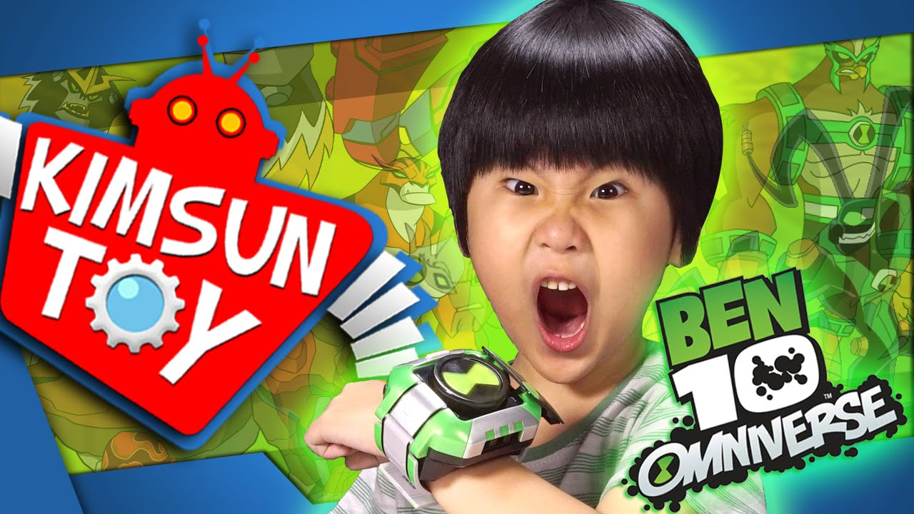 BEN 10 OMNITRIX รีวิวของเล่นนาฬิกาแปลงร่างเบนเทน l by KIMSUN TOY TV