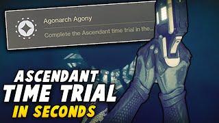 Easiest Speedrun Ever! - Agonarch Abyss Time Trial Guide - All Classes! (Destiny 2 Forsaken)