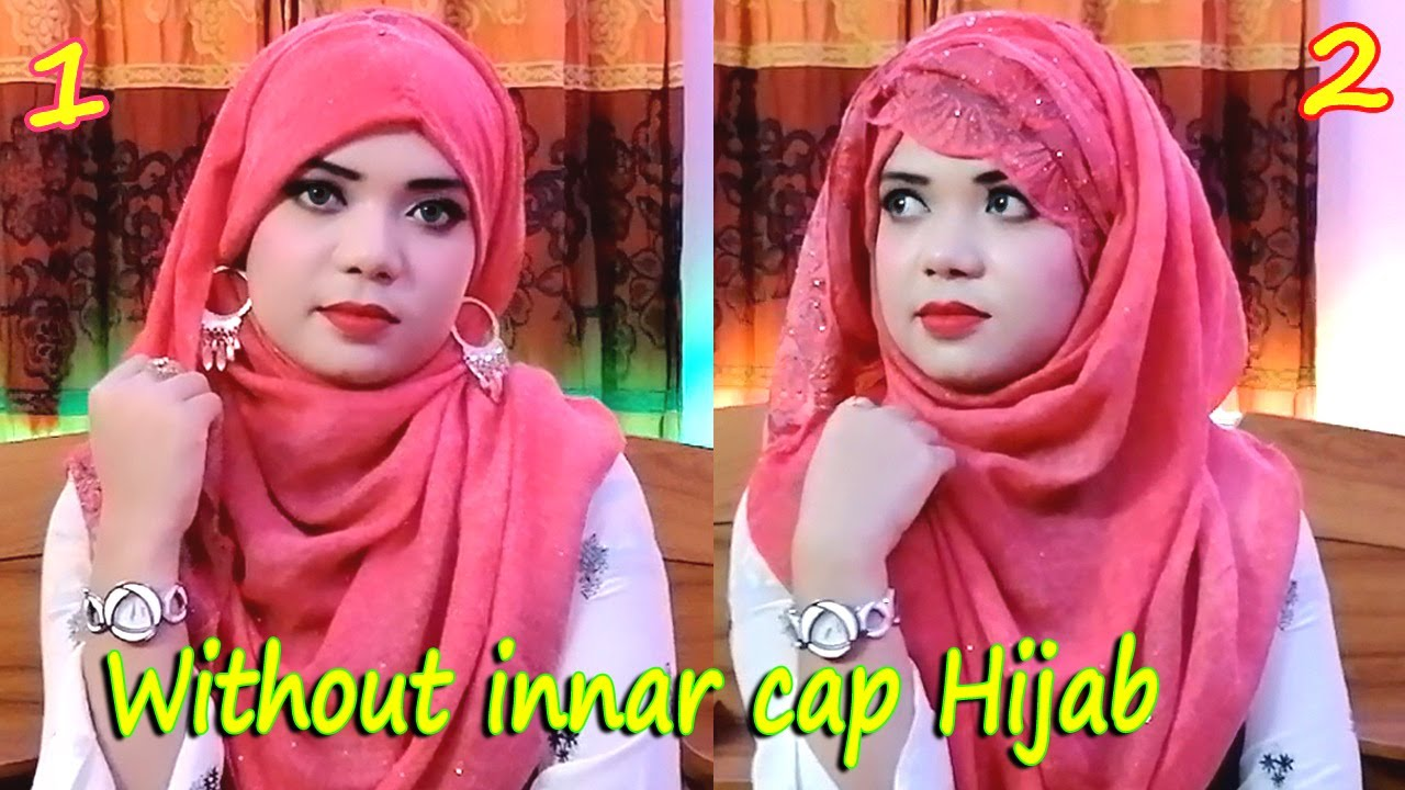 [VIDEO] - New hijab styles without inner cap hijab winter outfit hijab fashion 8