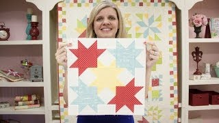 Wishes Quilt Along Block Ten: Idaho Beauty - Fat Quarter Shop