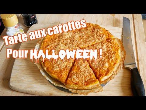 tarte-aux-carottes-facile-et-economique-🥕halloween-🎃