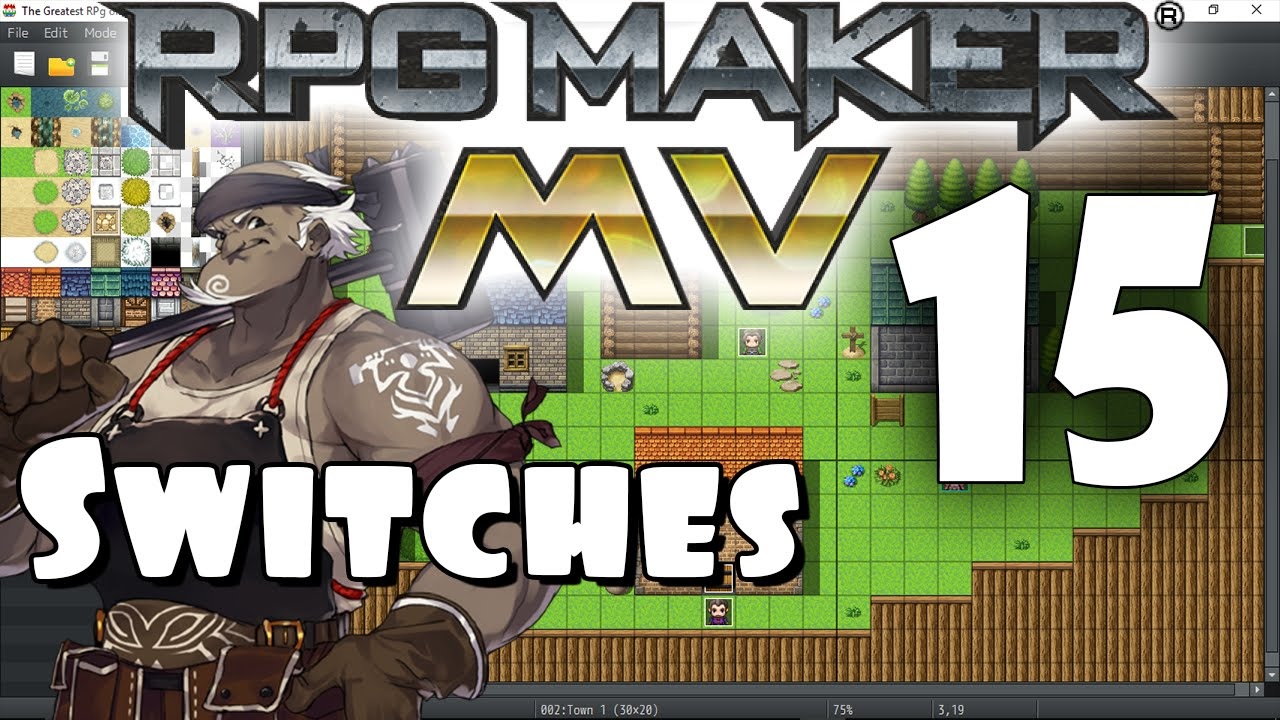 RPG Maker MV Tutorial #15 - Switches! by SRDude