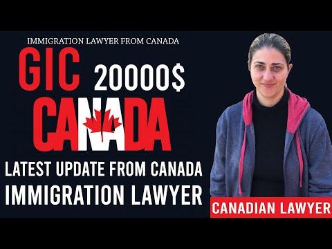 🇨🇦 GIC $20000 Update From Canada   Canada Visa New Rules 2019