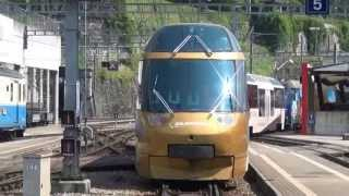 Golden Pass Panoramic Trains from Montreux to Zweisimmen