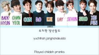 Скачать Exo Girl X Friend Korean Ver Eng Rom Han Picture Color Coded HD