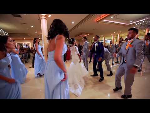 Bridal Party Entrance Dance Battle - West Indian