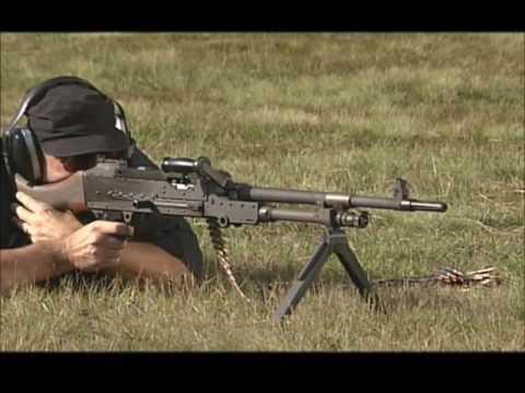 FN MAG Firing
