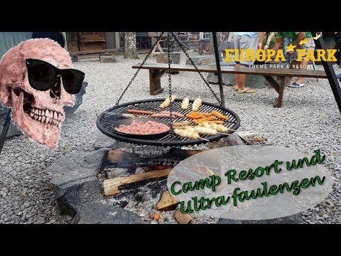 Camp Resort und ultra faulenzen | Europa Park