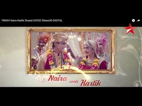 Yeh Rishta Kya Kehlata Hai   Naira Weds Kartik