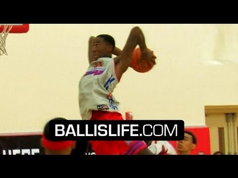 James Harden & DeMar DeRozan COOKIN' High School Players at Elite 24 Scrimmage!