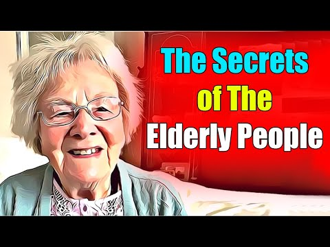 The only one who has the secrets of the elderly people before they meet their end! is this nurse!