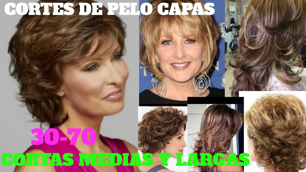 ¡¡CORTES DE CABELLO MUJER 2020!!CAPAS,CORTAS, MEDIAS,LARGAS,30,70 CORTES DE  PELO 2020