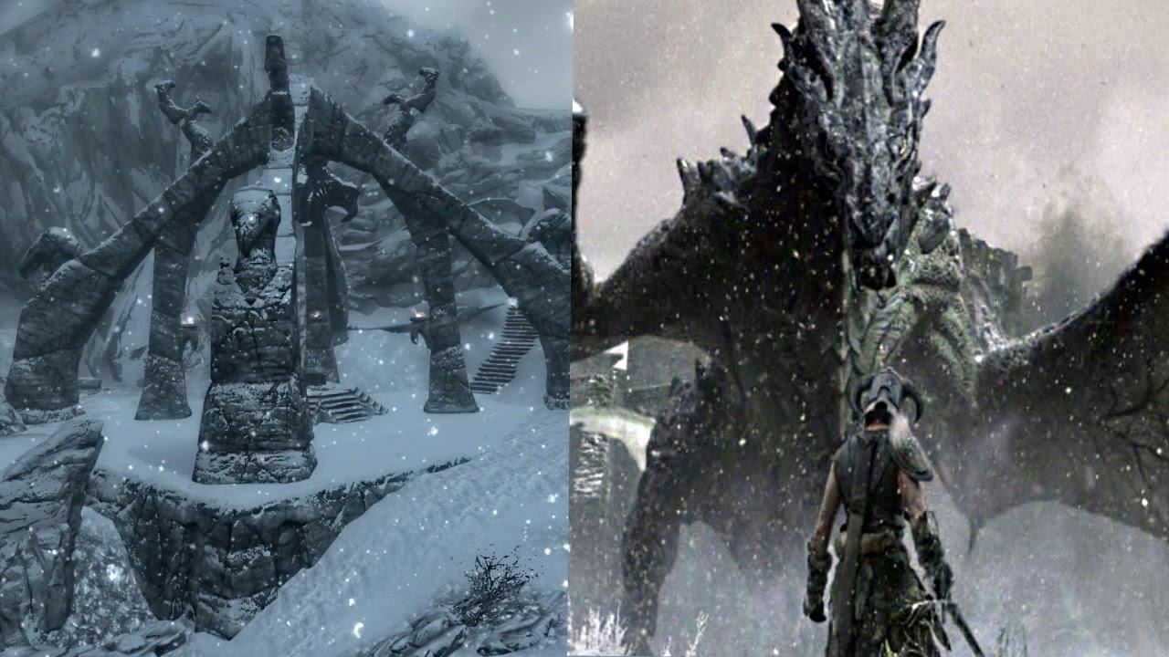 Skyrim - Where to find a Dragon Priest & Legendary Dragon ...